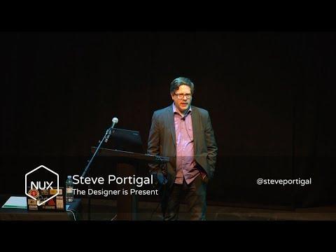 Steve Portigal - The Designer is Present - #NUX7 - @steveportigal