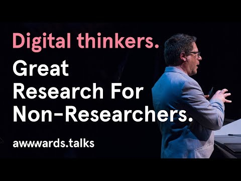 Great UX Research for Non-Researchers | Steve Portigal | Awwwards San Francisco