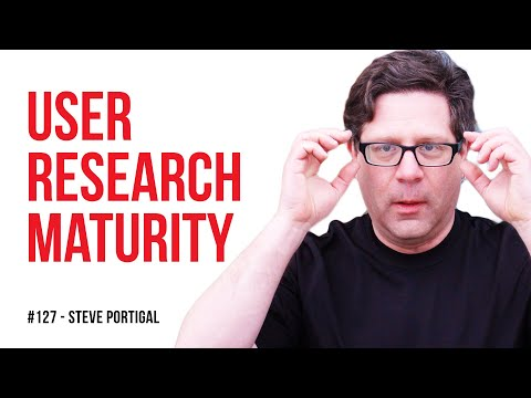 User research - what to do when your company doesn't get it / Steve Portigal / Episode #127