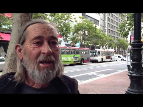 Craig Young in the street in SF
